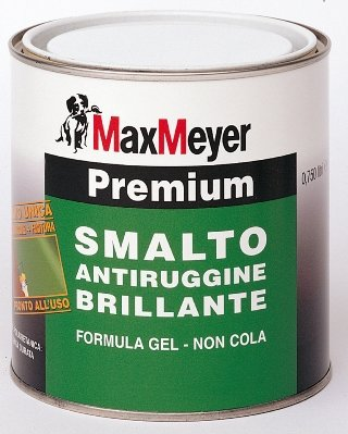 Premium 0,75 LT. Smalto/Antirrugine  Brillante   Max-Meyer